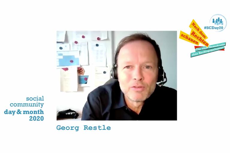 Screenshot Interview Georg Restle