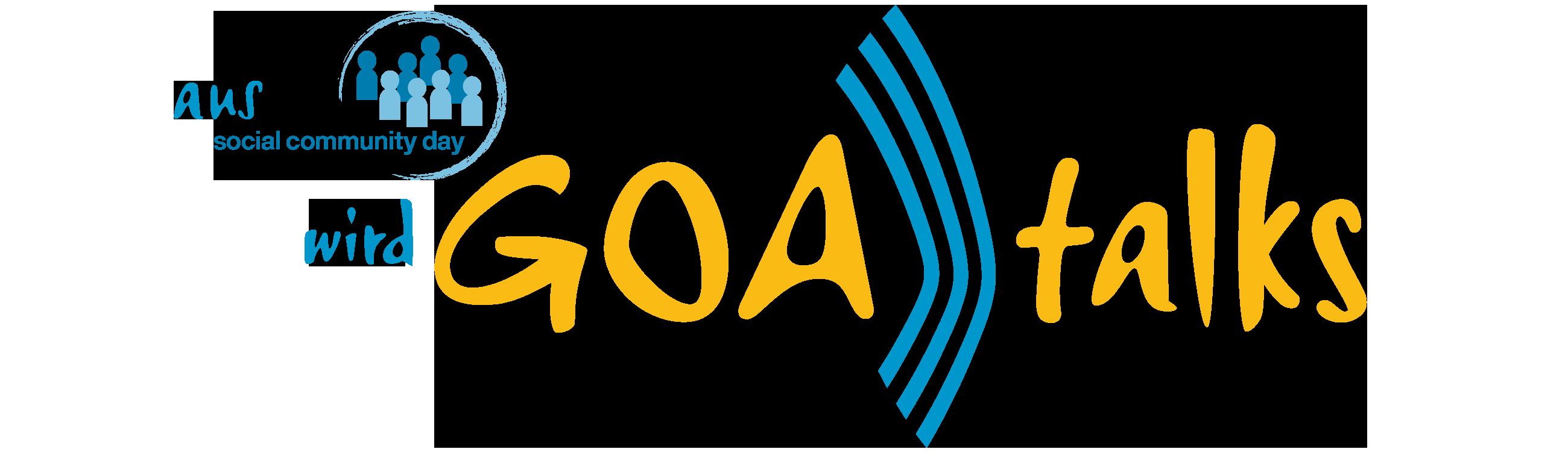 Aus Social Community Day wird GOAtalks